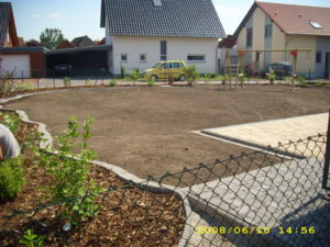 Neuanlage Rasenfläche