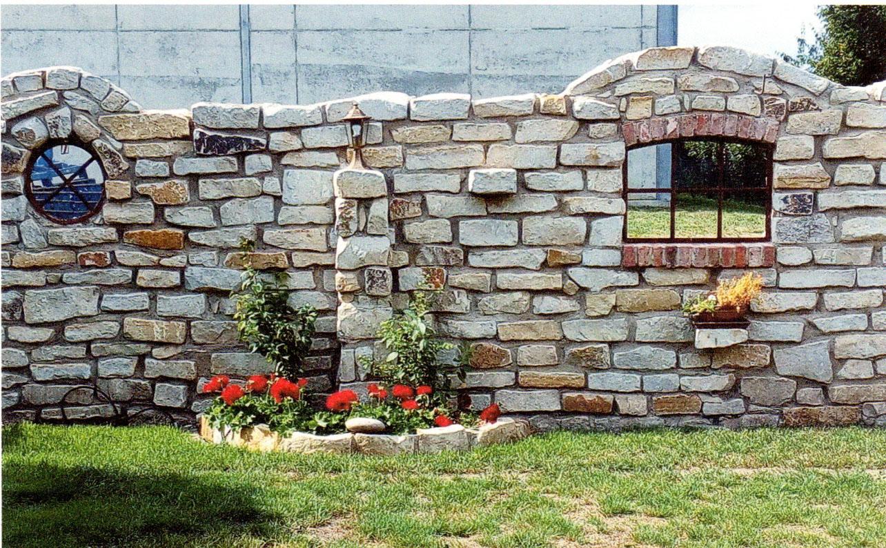 Natursteinmauer 28